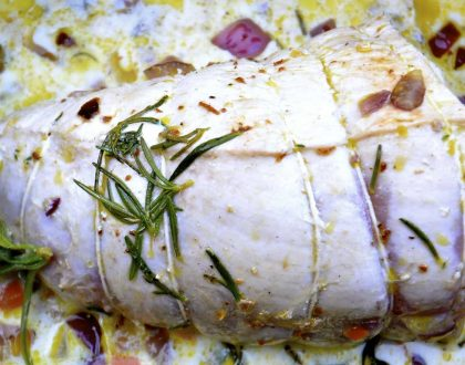 MILK BRAISED TURKEY BREAST