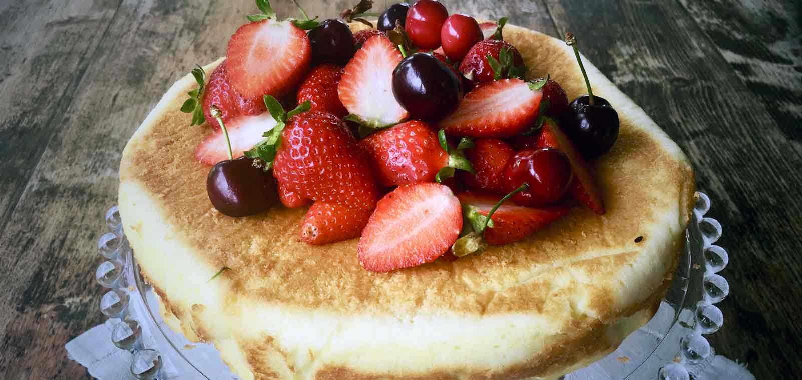 ALMOND LEMON RICOTTA CAKE