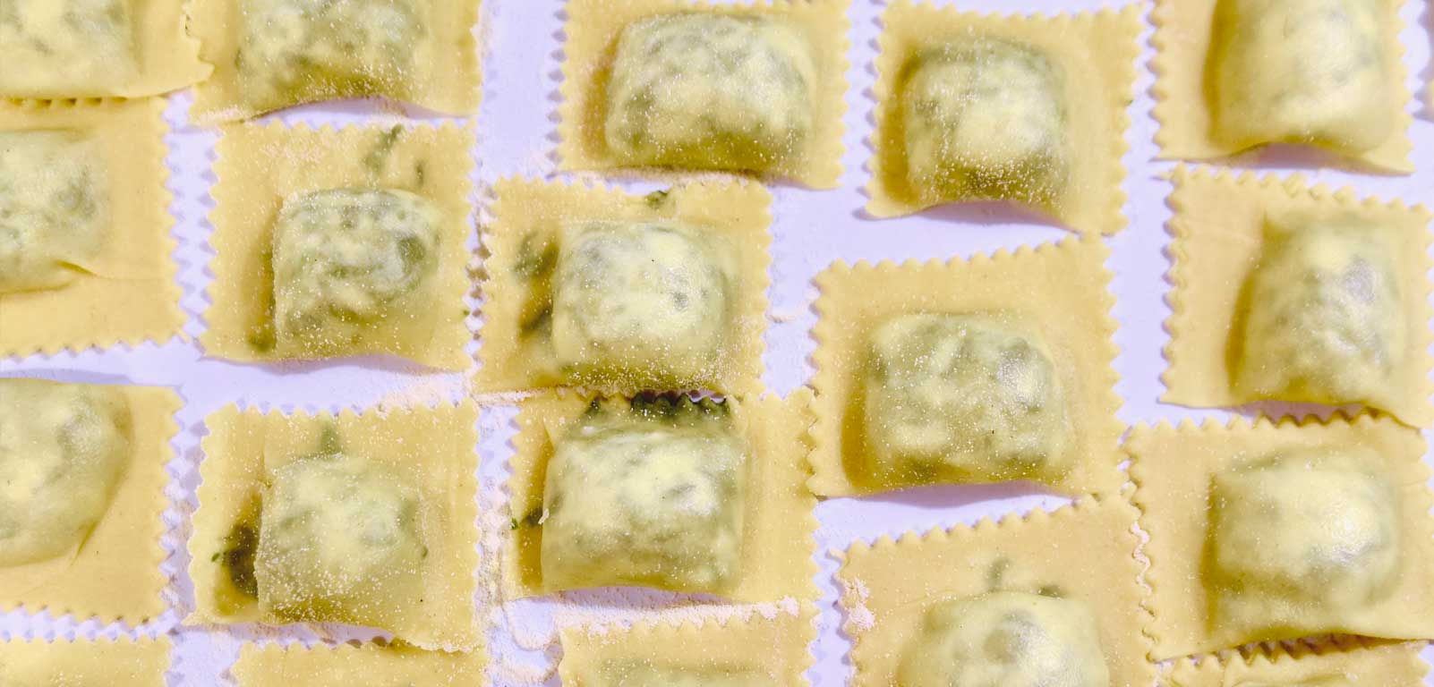 HOMEMADE RAVIOLI WITH HERBS