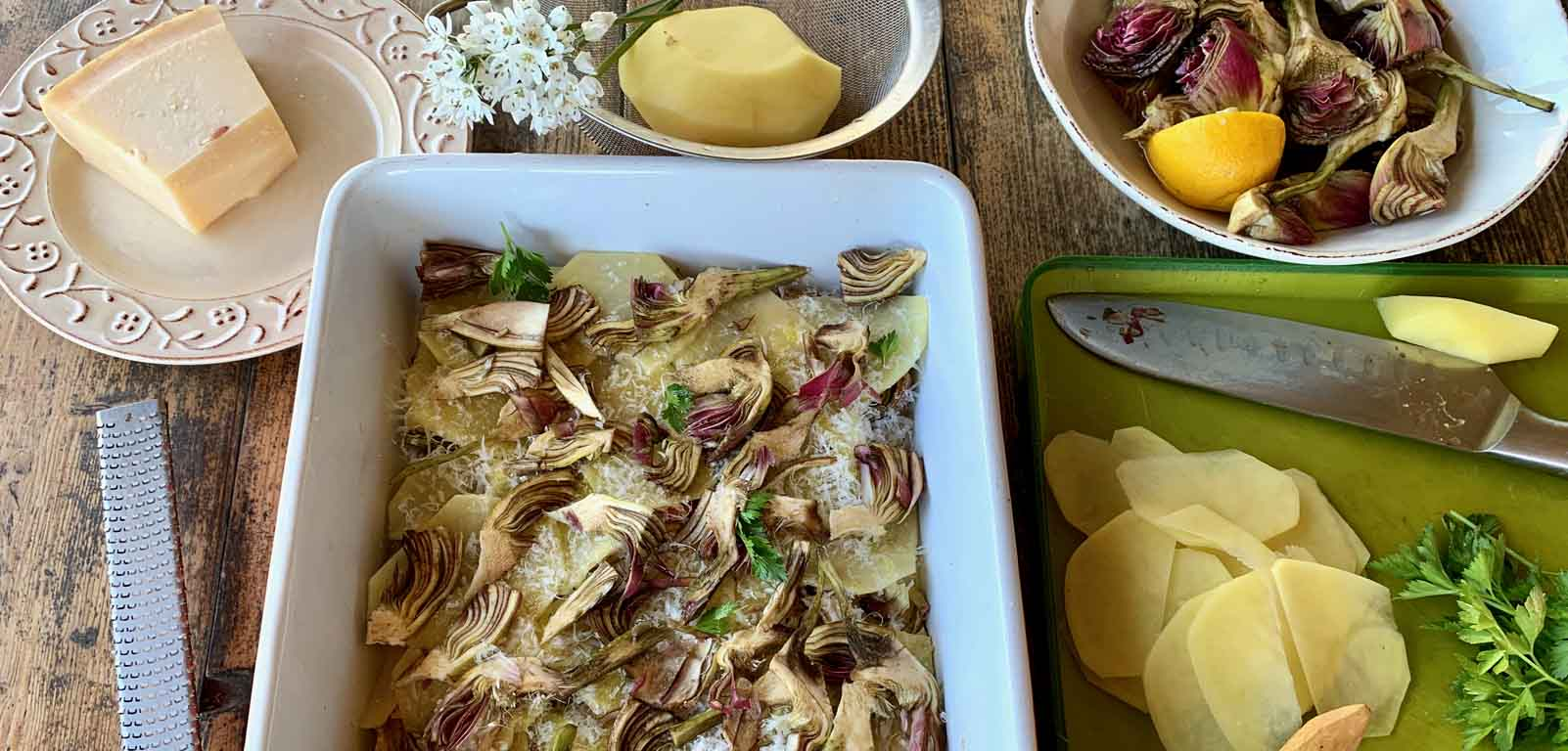 April 17: Artichoke & Potato Casserole Class