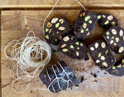 "August 28: Chocolate ""Salami"" & Granita di Caffé Class"