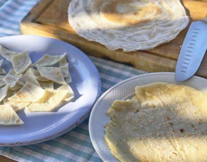 August 21: Handmade testaroli pasta with fresh basil pesto Class